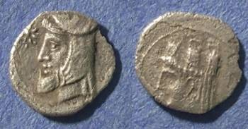 Ancient Coins - Cilicia, Uncertain mint Circa 350 BC, Obol