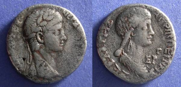 Ancient Coins - Antioch - Seleucis and Pieria, Nero 54-68, Tetradrachm