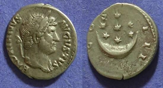 Ancient Coins - Hadrian 117-138 Denarius