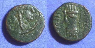 Ancient Coins - Smyrna Ionia – AE13 Circa 120 BC