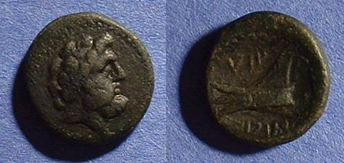 Ancient Coins - Arados Phoenicia AE16 - 2nd Century BC