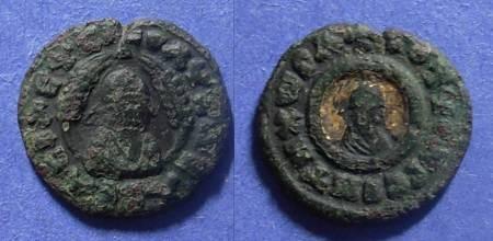 Ancient Coins - Axum, Ouazebas Circa 350-400, AE17