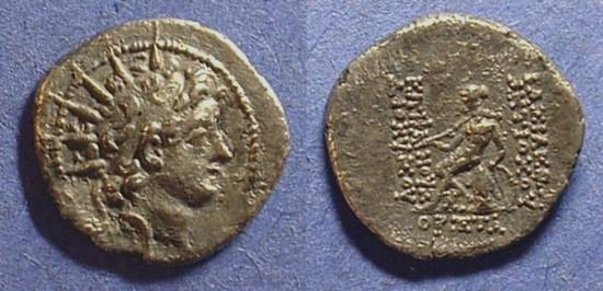 Ancient Coins - Seleucid Kingdom - Antiochos VI 145-2 drachm