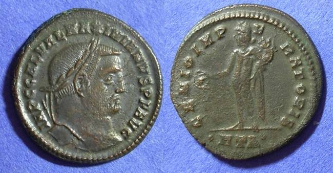 Ancient Coins - Roman Empire – Galerius (Augustus) 305-311 – Follis