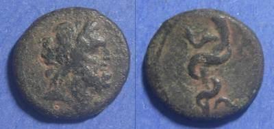 Ancient Coins - Pergamon, Mysia Circa 100 BC, AE16