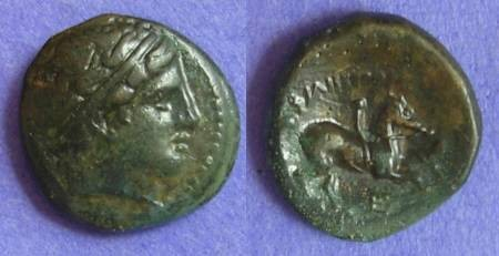 Ancient Coins - Macedonian Kingdom Philip II 359-336 BC AE19