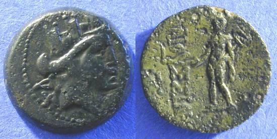 Ancient Coins - Elaioussa Sebaste - Cilicia AE18 1st Century BC
