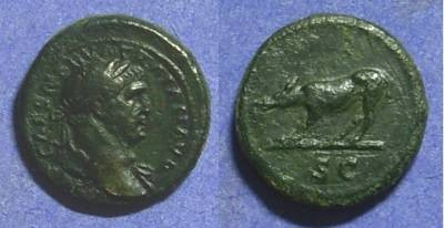 Ancient Coins - Trajan 98-117 – Quadrans