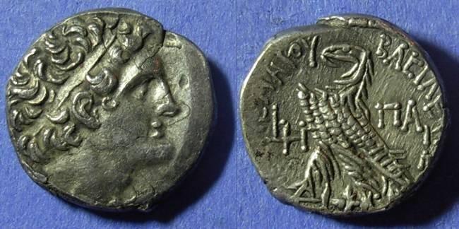 Ancient Coins - Egypt Ptolemy IX 116-80 BC Tetradrachm