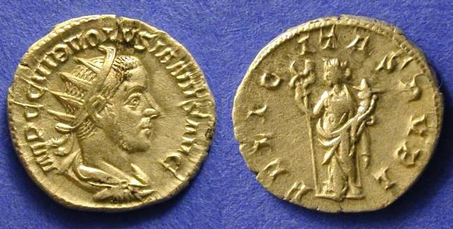 Ancient Coins - Volusian 251-253AD Antoninianus