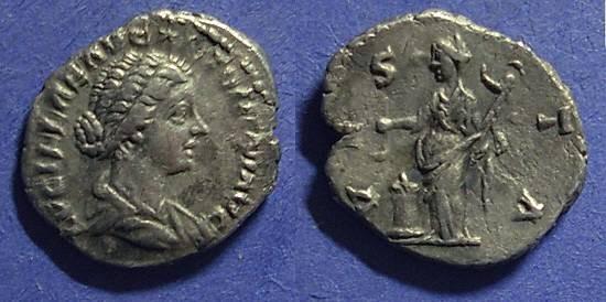 Ancient Coins - Roman Empire, Lucilla 161-9, Denarius
