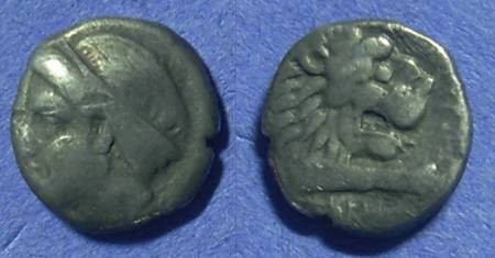 Ancient Coins - Knidos Caria Drachm Circa 350 BC
