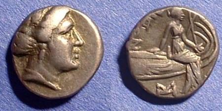 Ancient Coins - Histiaea Euboea Tetrobol 3rd Century BC