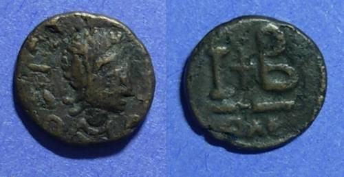 Ancient Coins - Byzantine Empire, Imitative of Justinian Circa 550, 12 Nummi