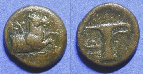 Ancient Coins - Kyme Aiolis - AE17 3rd Century BC