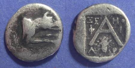 Ancient Coins - Argos,  90-50 BC, Hemidrachm