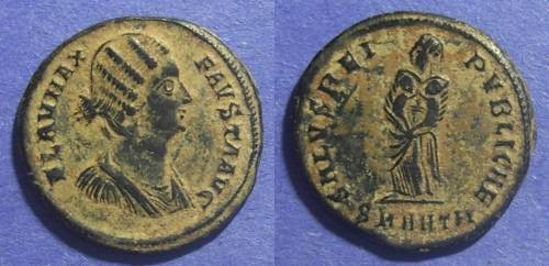 Ancient Coins - Roman Empire - Fausta 324-6 AD AE3