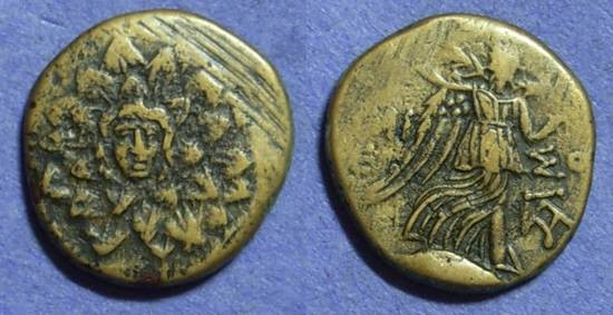 Ancient Coins - Amisos Pontos - AE21 Circa 100 Time of Mithradates