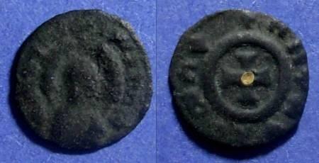 Ancient Coins - Axum, MHDYS 400-450 AD, AE14