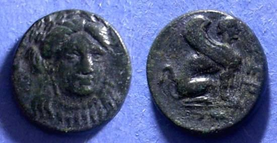 Ancient Coins - Gergis, Troas 400-250 BC, AE16