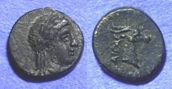 Ancient Coins - Aigai Aeolis – AE10 Circa 150BC