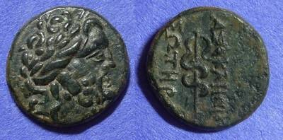 Ancient Coins - Pergamon Mysia AE17 2nd-1St Century BC