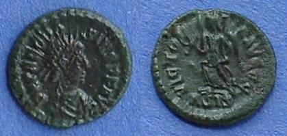 Ancient Coins - Theodosius 379-395 AE4