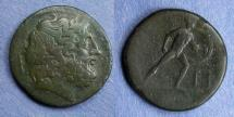 Ancient Coins - Sicily Messana, The Mamertinoi 220-200 BC, Pentonkion