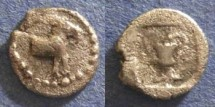 Ancient Coins - Macedonia, Mende 460-423 BC, Tritartemorion