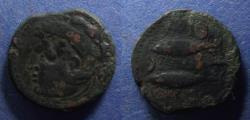 Ancient Coins - Spain, Gadir 125-100 BC, AE25
