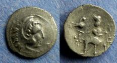 Ancient Coins - Celtic, Lower Danube Circa 150 BC, Drachm