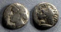 Ancient Coins - Mysia, Kyzikus 390-340 BC, Drachm