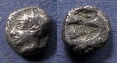 Ancient Coins - Ionia, Phokaia 510-490 BC, Diobol