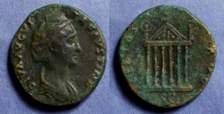Ancient Coins - Roman Empire, Faustina Sr D. 141, Sestertius