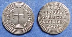 Ancient Coins - Byzantine Empire, Theophilus 829-842, Silver Miliaresion