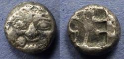 Ancient Coins - Mysia, Parion Circa 450BC, Drachm
