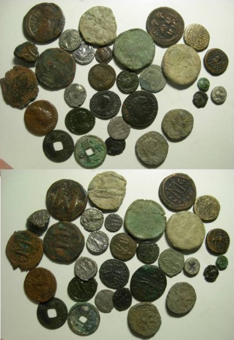 Ancient Coins - Ancient/Medieval mixed lot