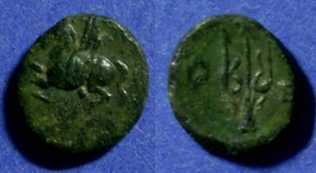 Ancient Coins - Corinth  Circa 350 BC AE12