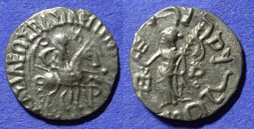 Ancient Coins - Indo-Scythians - Azilises 57-35 BC - Drachm