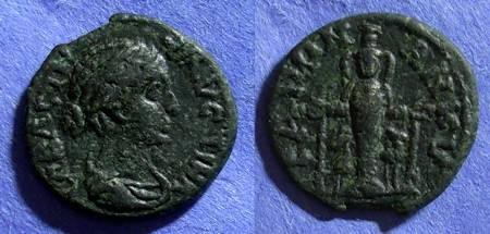 Ancient Coins - Roman Ankyra, Faustina Jr d. 175, AE18