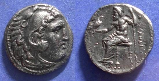 Ancient Coins - Macedoniann Kingdom, Alexander III 336-323 BC, Drachm