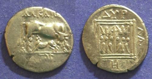 Ancient Coins - Illyria, Dyrrhachion 229-100 BC, Drachm5