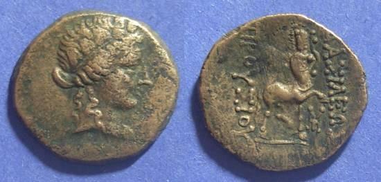 Ancient Coins - Bithynian Kingdom, Prusias II 185-149 BC, AE22