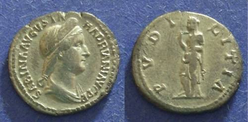 Ancient Coins - Roman Empire, Sabina d. 137, Denarius