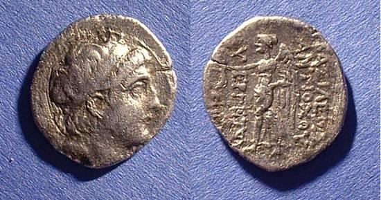 Ancient Coins - Seleucid Kingdom - Antiochos VII 138-129 BC Drachm
