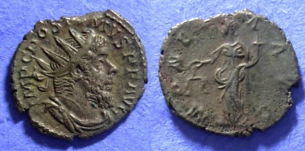 Ancient Coins - Gallic Successionist Empire, Postumus 259-269 Antoninianus
