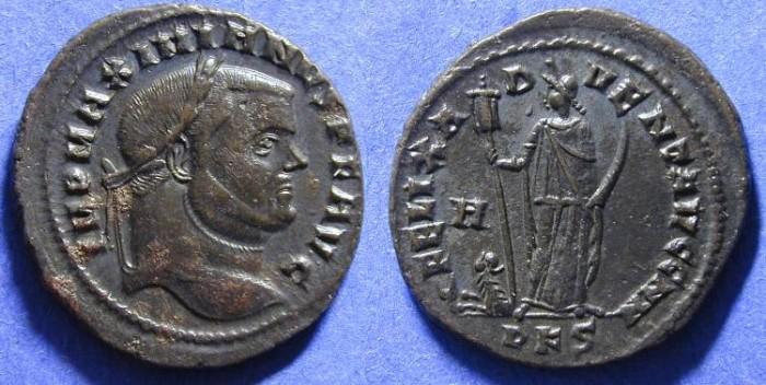Ancient Coins - Maximianus 286-305 Follis - Carthage mint