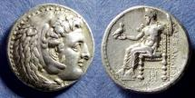 Ancient Coins - Kingdom of Macedonia, Alexander III 336-323 BC, Lifetime Tetradrachm