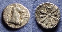 Ancient Coins - Aeolis, Kyme Circa 350 BC, Hemiobol