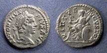 Ancient Coins - Roman Empire, Caracalla 198-217, Denarius